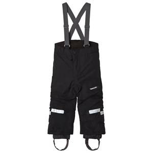 Didriksons Unisex Bottoms Black Idre Kids Pants Black