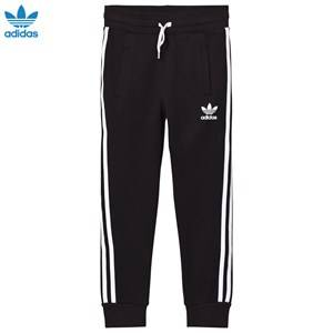 adidas Originals Unisex Bottoms Black Black Logo Sweatpants