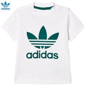adidas Originals Unisex Tops White White Infants Logo Tee