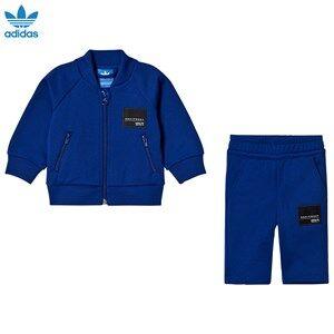adidas Originals Boys Clothing sets Blue Blue Infants Equipment Sweatshirt Set