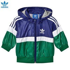 adidas Originals Boys Coats and jackets Navy Navy Infants Logo Windbreaker