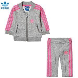adidas Originals Boys Clothing sets Grey Grey Infants Track