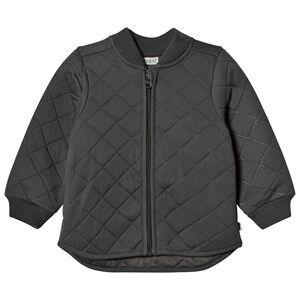 Wheat Unisex Coats and jackets Black Thermo Jacket Loui Charcoal