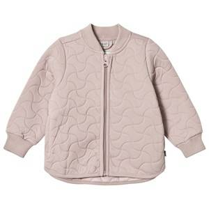 Wheat Girls Coats and jackets Cream Thermo Jacket Loui Dark Powder