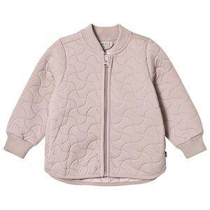 Wheat Girls Coats and jackets Cream Thermo Jacket Loui Dark Powder