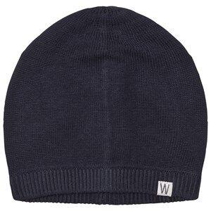 Wheat Boys Headwear Navy Freddy Beanie Navy