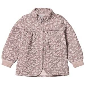 Wheat Girls Coats and jackets Cream Thermo Jacket Thilde Dark Powder