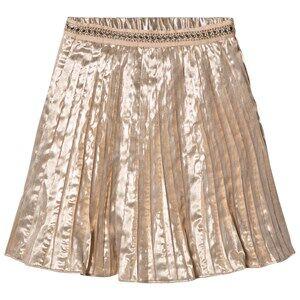 Velveteen Girls Skirts Pink Paola Skirt Rose Gold