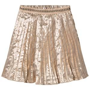 Velveteen Girls Skirts Pink Paola Skirt Rose Gold