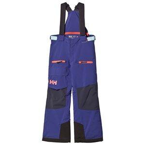 Helly Hansen Girls Bottoms Purple Junior Powder Ski Pants Purple