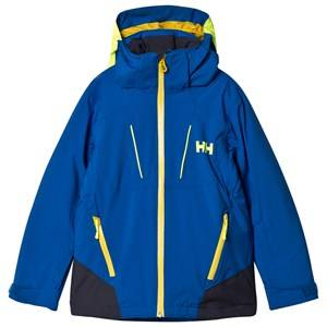 Helly Hansen Boys Coats and jackets Blue Junior Boundary Ski Jacket Olympian Blue