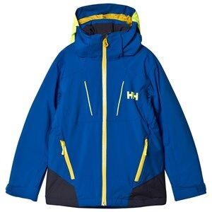 Helly Hansen Boys Coats and jackets Blue Junior Boundary Ski Jacket Olympian Blue