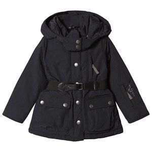 Ver de Terre Girls Coats and jackets Black Eskimo Down Jacket Black