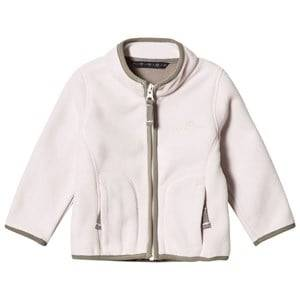 Ver de Terre Girls Fleeces Pink Double Face Fleece Jacket Rose Powder/Mocca