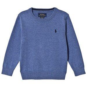 Ralph Lauren Boys Jumpers and knitwear Blue Crewneck Sweater Blue