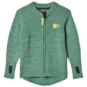 Kattnakken Unisex Jumpers and knitwear Green Wool Jacket Pistachio Green