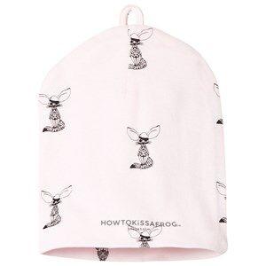 Kiss How To Kiss A Frog Girls Headwear Pink Hat Allover Fox Powder
