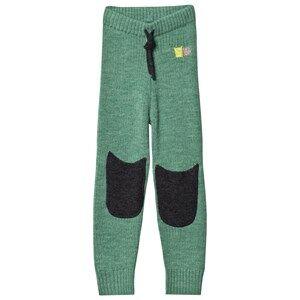 Kattnakken Unisex Bottoms Green Wool Pants Pistachio Green