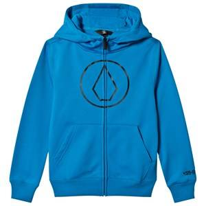 Volcom Boys Fleeces Blue Grohman Logo Fleece Hoodie