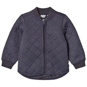 Wheat Unisex Coats and jackets Blue Thermo Jacket Loui Dark Blue