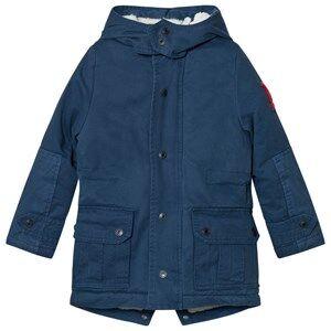Little Marc Jacobs Boys Coats and jackets Blue Hooded Parka