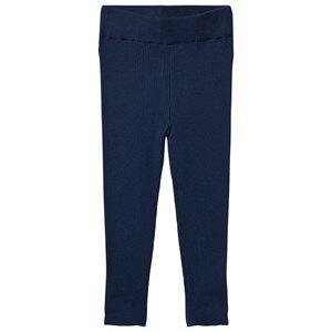 FUB Unisex Bottoms Blue Extra Fine Leggings Dark Blue