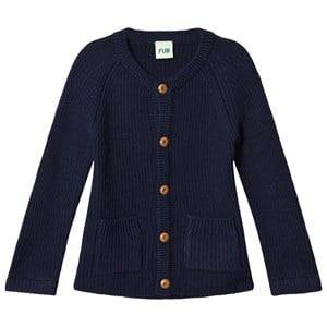 FUB Unisex Coats and jackets Blue Knit Jacket Navy