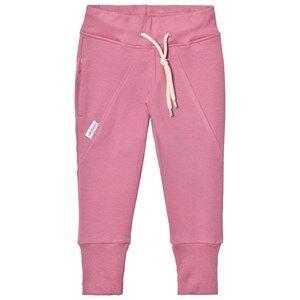 Gugguu Girls Bottoms Pink Slim Baggy Pants Heather Rose