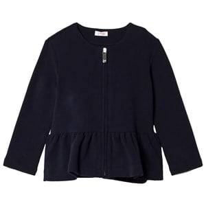 Il Gufo Girls Jumpers and knitwear Navy Navy Peplum Milano Cardigan