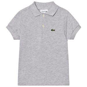 Lacoste Boys Tops Grey Grey Classic Pique Polo