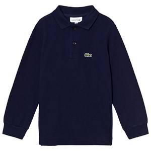 Lacoste Boys Tops Navy Navy Classic Long Sleeve Pique Polo