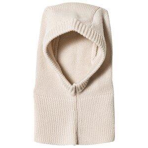 FUB Unisex Headwear White Baby Balaclava Ecru