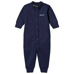 Didriksons Unisex Fleeces Blue Morris Baby Onesie Navy