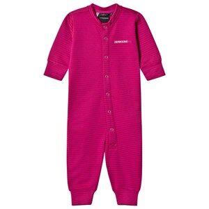 Didriksons Girls Fleeces Purple Morris Baby Onesie Lilac Stripes