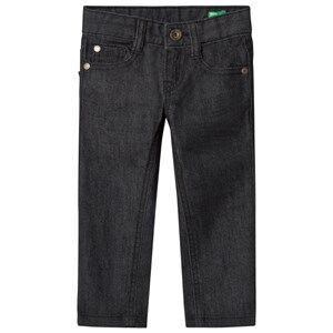 United Colors of Benetton Boys Bottoms Black Stretch Skinny Denim Pants Black