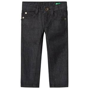 United Colors of Benetton Boys Bottoms Black Stretch Skinny Denim Pants Black