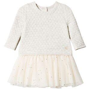 Petit Bateau Girls Dresses Grey Dress Grey Melange