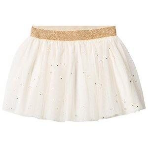 Petit Bateau Girls Skirts White Creme Tulle Skirt
