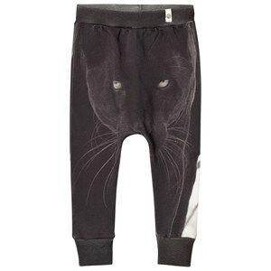 Popupshop Unisex Bottoms Grey Panther Baggy Leggings