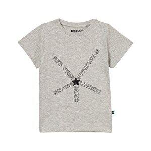 The BRAND Unisex Private Label Tops Grey City Tee Grey Melange
