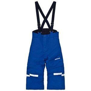 Didriksons Unisex Bottoms Blue Idre Kids Pants Cobolt