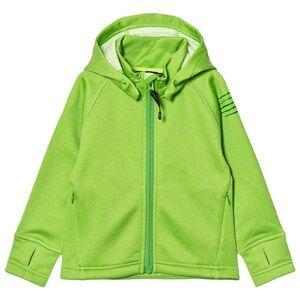 Isbjörn Of Sweden Unisex Fleeces Green PANDA Fleece Hoodie Lemongrass