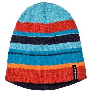 Isbjörn Of Sweden Unisex Headwear Orange HAWK Knitted Hat Sunset