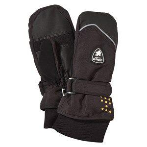 Image of Lindberg Unisex Childrens Clothes Gloves and mittens Black Sveg Mitten Black