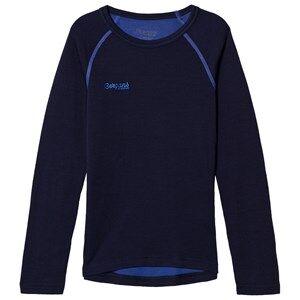 Bergans Unisex Jumpers and knitwear Blue Akeleie Shirt Navy/Warm Cobalt