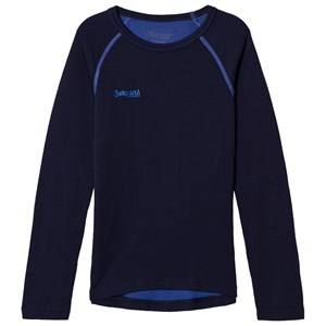 Bergans Unisex Jumpers and knitwear Blue Akeleie Shirt Navy/Warm Cobalt