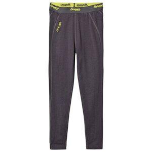 Bergans Unisex Underwear Grey Fjellrapp Tights Dark Grey