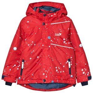 Muddy Puddles Unisex Coats and jackets Red Red Interstellar Blizzard Ski Jacket