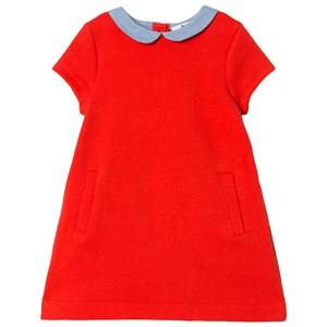 Image of Cyrillus Girls Dresses Red Red Short Sleeve Dress