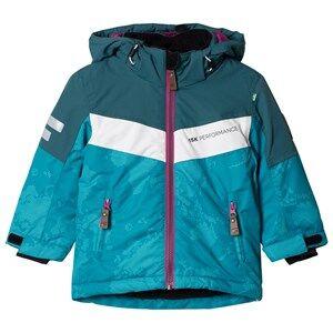 Lindberg Unisex Coats and jackets Atlas Jacket Turquoise